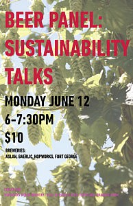 PDX Beer Week Beer Panel: Sustainability Talks