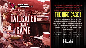 Four Peaks Tailgater of the Game