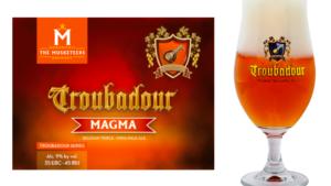 TROUBADOR MAGMA BELGIUM'S BEST IMPERIAL / DOUBLE IPA ON WORLD BEER AWARDS