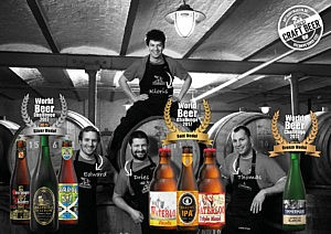 7 awards for our beers