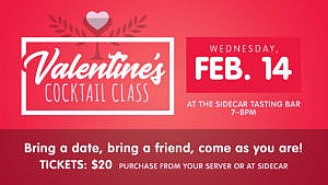 Valentine's Day Cocktail Class @ Pub on 8th