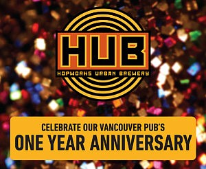 1 Year Anniversary at HUB Vancouver!