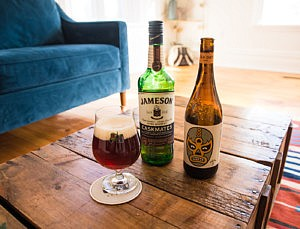 Jameson® Irish Whiskey casks lend accents of wood and warmth to Beau's Strong Patrick