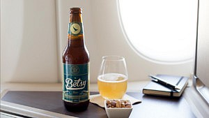 The world's first hand-crafted bottled beer brewed to be enjoyed at 35,000ft