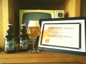 Golden Award for Préaris White Dragon