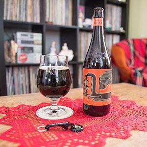 FeBREWary Week 3: Belgian-style Black Ale on tap