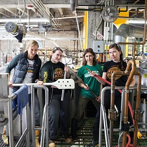 HUB's Women Brewers Brew Up Original Alewife Beer
