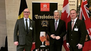 The Musketeers conquers Canada with Troubadour beers