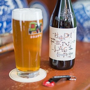 Beau's launching Hopfenlager, a Farm Table Series hopped lager