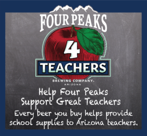 'Four Peaks 4 Teachers' is back for its eighth year