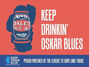 Oskar Blues Partners with Keep Tahoe Blue