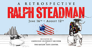 Ralph Steadman is Coming to America