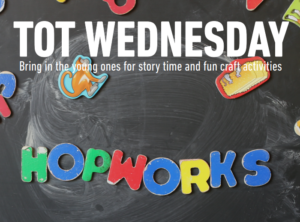 Tot Wednesday at Hopworks Urban Brewery Vancouver – Every 2nd Wednesday