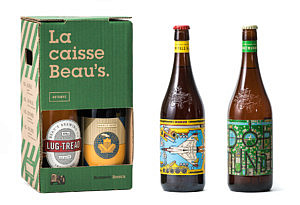 Beau's Fall Mix: it's got a maple beer in it. Avail. Aug. 16!