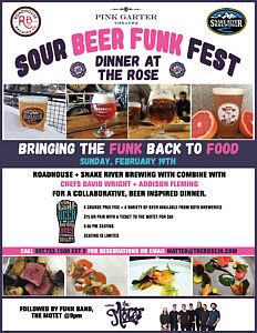 Sour Beer Funk Fest this Sunday!