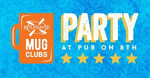10/11 – Mug Club Party @ Pub on 8th