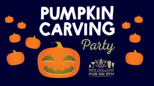 10/22 – Pumpkin Carving Party @ Pub on 8th