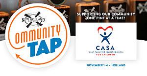 12/1-12/31 – December Community Tap at Pub on 8th