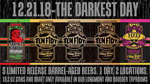 The Darkest Day – 1 Day, 5 Barrel-Aged Imperial Stouts