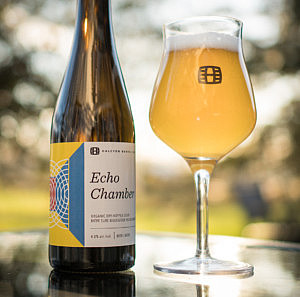 Halcyon Barrel House expands distribution of Echo Chamber, an organic dry-hopped sour