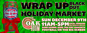 Wrap Up Black Out Holiday Market 2018